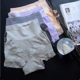 Munafie High Waist Shaping Panties (2 Pcs Set -Mix Color)